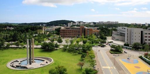 Tổng quan khuôn viên Đại học Gangneung Wonju